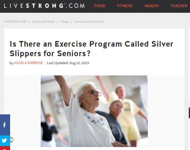 SilverSneakers Keeps Seniors Fit