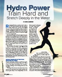 Hydro Power: Train Hard and Stretch Deeply in the Water