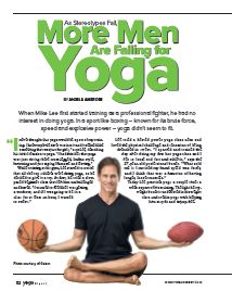 As Stereotypes Fall, More Men Are Falling for Yoga