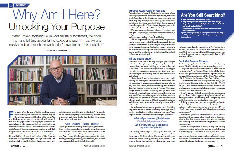 Why Am I Here? Unlocking Your Purpose