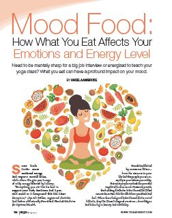 Mood Food: What You Eat Affects Your Emotions and Energy Level